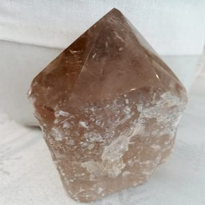 Pierre quartz fumé brute