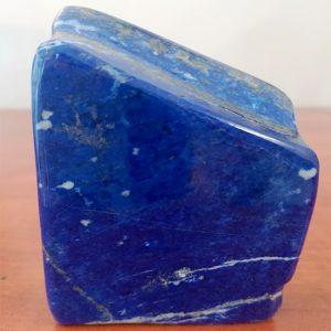 Pierre lapis lazuli bloc