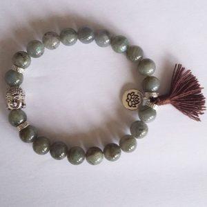 bracelet en labradorite naturelle