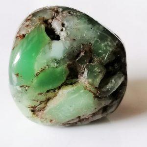 pierre naturelle chrysoprase