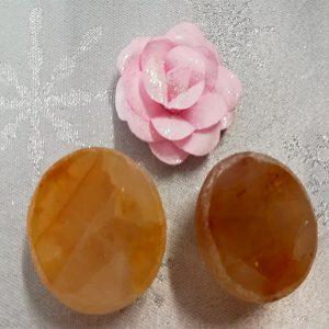 pierre quartz jaune