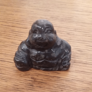 bouddha obsidienne noire